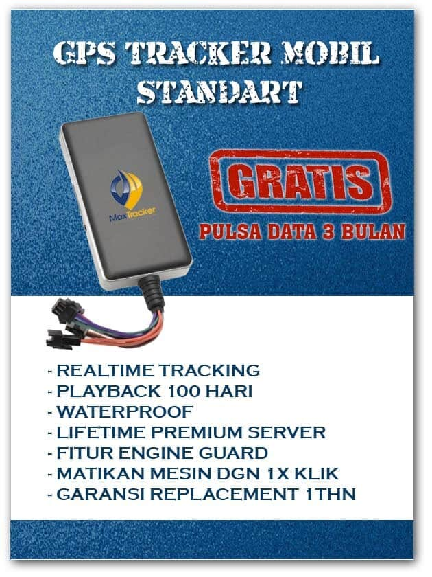 Paket GPS Mobil Standart
