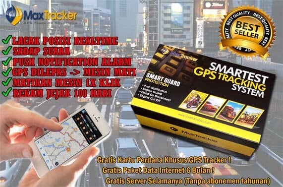 GPS Tracker Anti Begal Selingkuh Pencuri