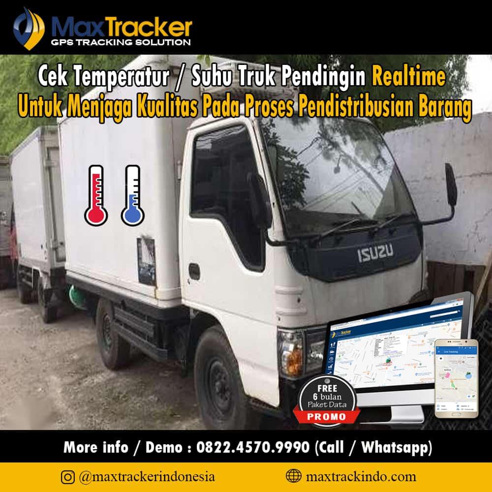 MOnitoring Suhu Frozen Truck